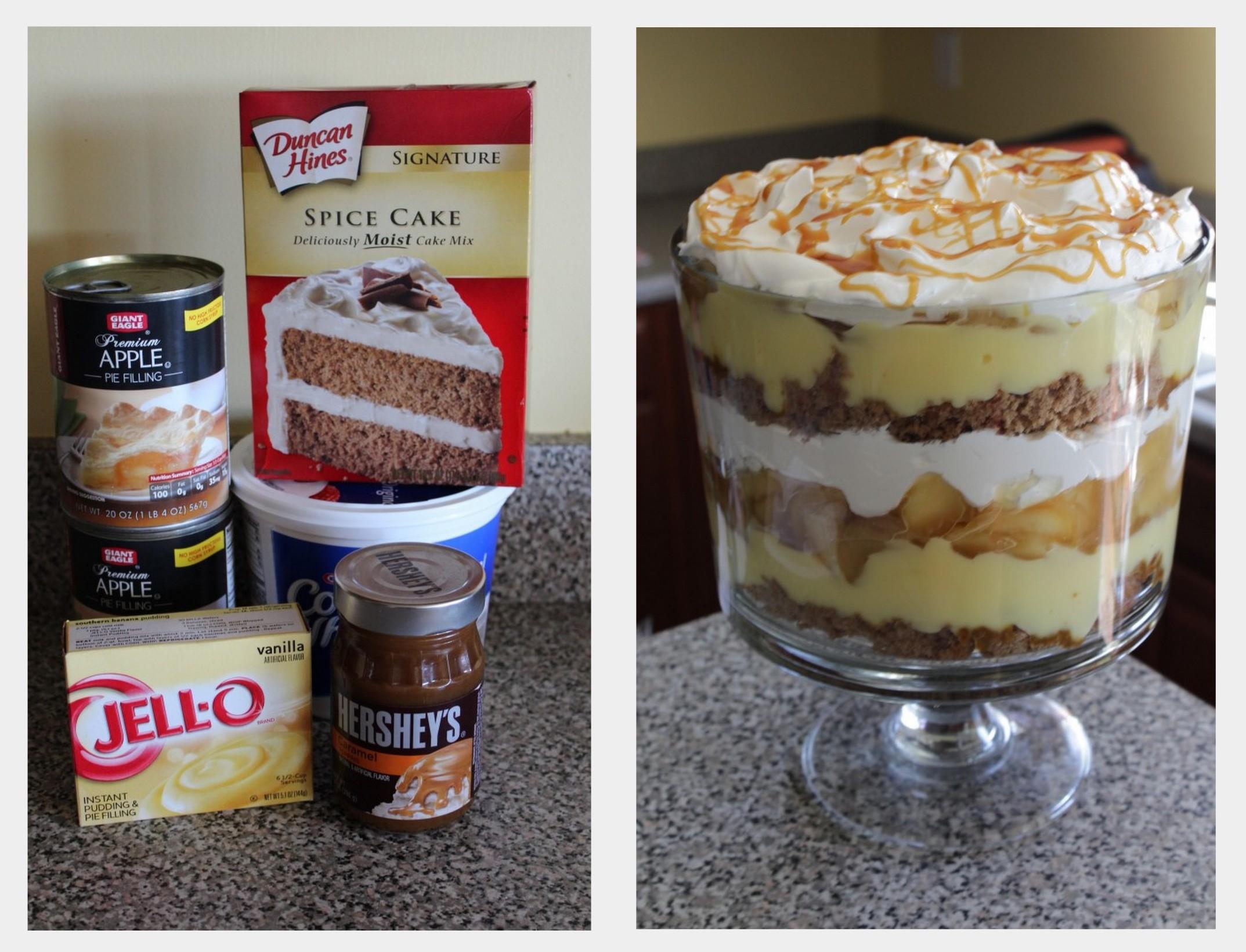 Trifle Recipes Using Pound Cake